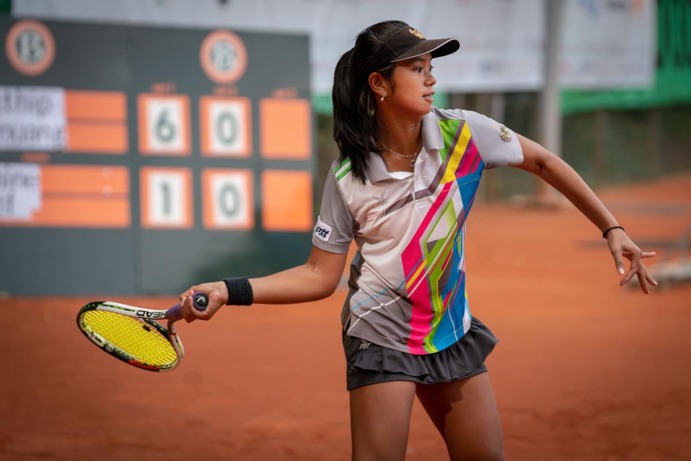 De Thaise Salakthip Ounmuang won zaterdag de finale van de Windmill Cup in Oosterbeekeenvoudig.