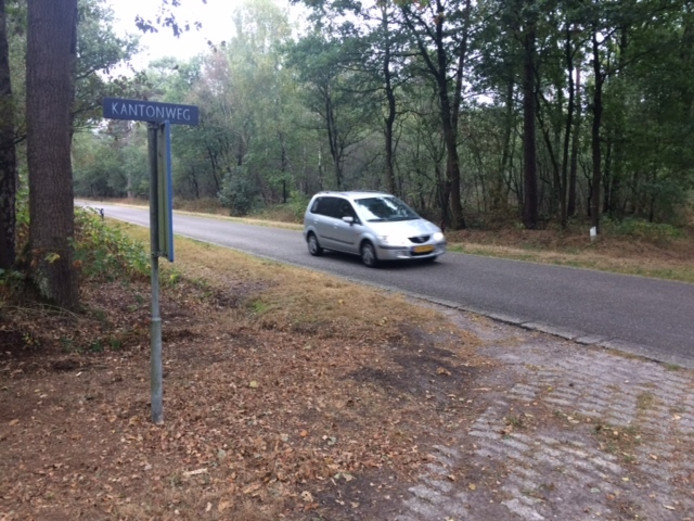 Ter hoogte van de Kantonweg komt mogelijk een afsluiting voor auto's in de Slabroekseweg te liggen. Auto's zouden dan via de Doelenweg, langs het golfpark en de A50, moeten rijden.