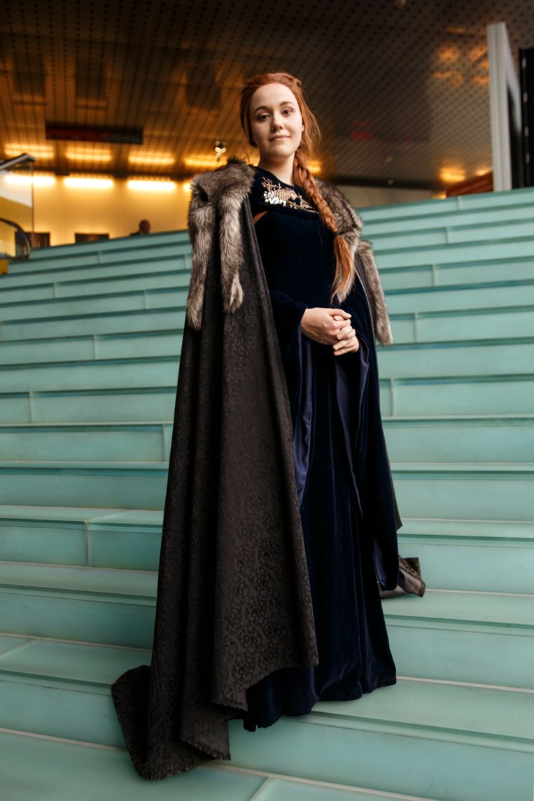 Anne van Engelen (26) als Sansa Stark. Beeld Carly Wollaert