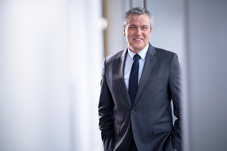 Ruud Dobber is lid van de Raad van Bestuur van AstraZeneca. Beeld AstraZeneca