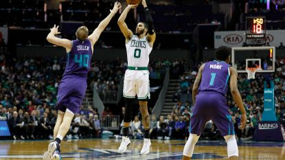 NBA: Boston wint tegen Charlotte, Houston legt Denver over de knie