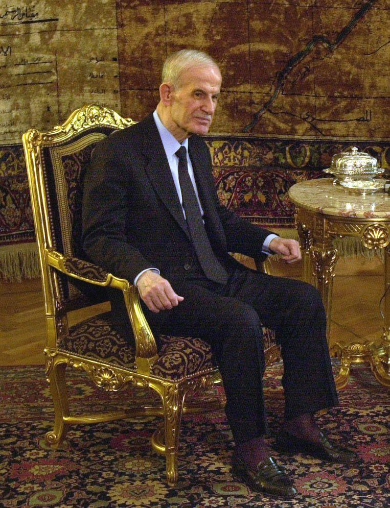 De voormalige Syrische president Hafiz al-Assad.