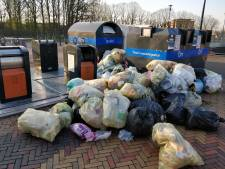 Bijzetafval-probleem in Eindhoven nog steeds groot