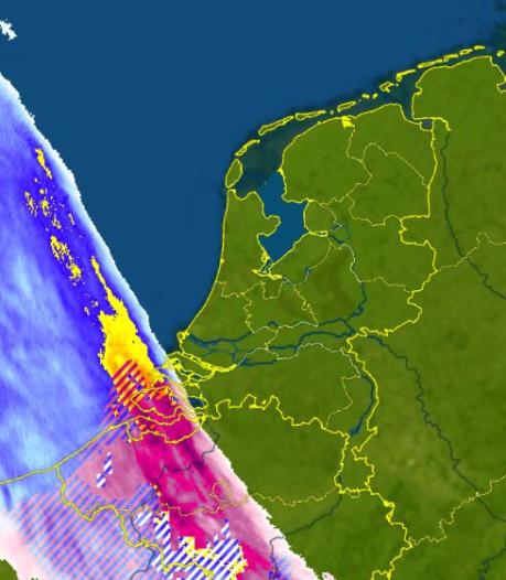 Code geel in het hele land: Oost-Nederland kleurt vannacht wit