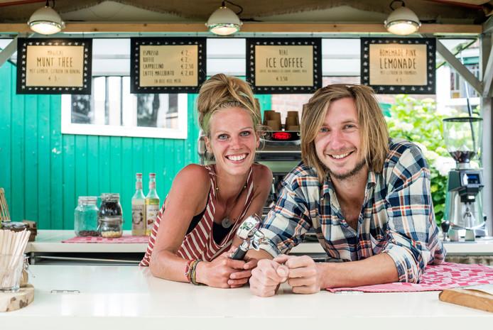 Heidi en Isaac van Barefoot Coffee.
