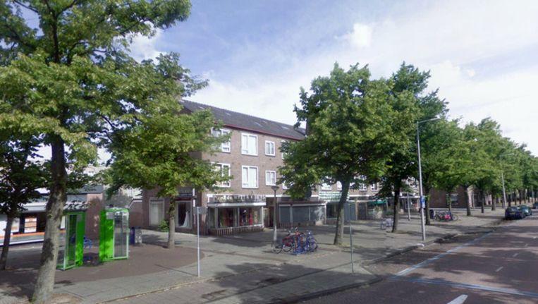 De bruidswinkel 'De Witte Koets' in Amsterdam-West. Beeld Street View