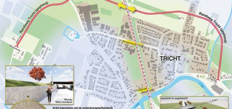 Randweg Tricht is zomer 2021 klaar, dorpsbewoners vrezen sluipverkeer