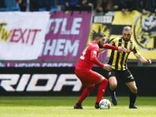 Tighadouini traint mee bij Vitesse