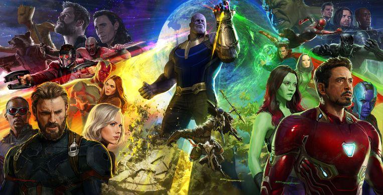 Marvel - 'Avengers: Infinity War'.