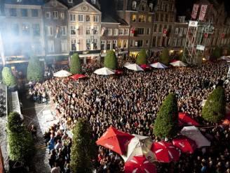 Al heel druk in Leuven op eerste Marktrockfestivaldag