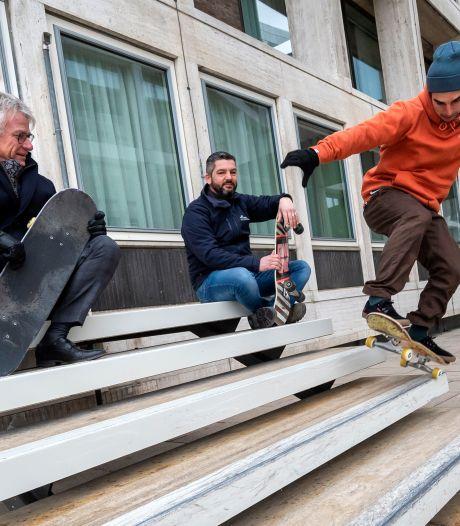 Provinciehuis in Arnhem is nu skateboardproof en 'voorbeeld voor de rest van Nederland'