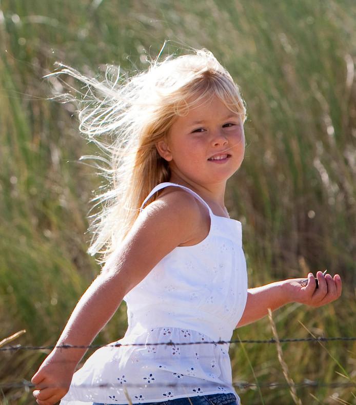 2009:  op het strand bij het natuurgebied Meijendel in Wassenaar.