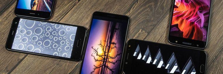 Dit zijn de smartphones die er momenteel toe doen.