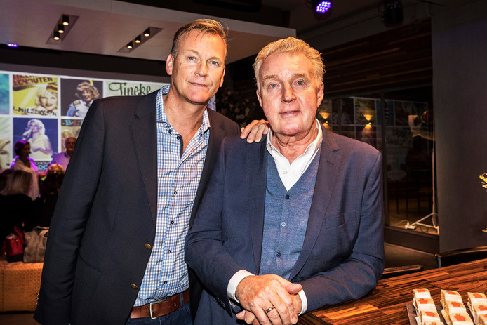 André van Duin met partner Martin Elferink.