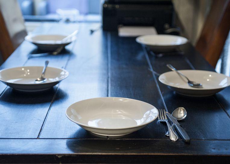 Elke zondag bij het avondeten zet Rikus nog een bord voor zijn zoon klaar. Beeld Linelle Deunk