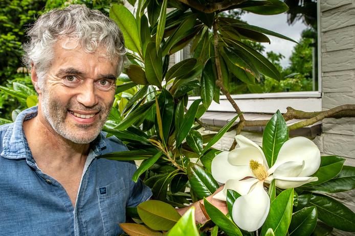 Peter Blommerde en zijn magnolia's