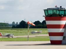 Sportvliegtuigje even in de problemen boven vliegveld Lelystad