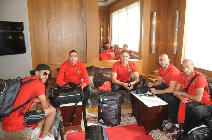 De spelers van Marokko bereiden zich voor op de cruciale interland tegen Ivoorkust