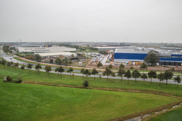 Dalfsen wil een nieuw bedrijventerrein mogelijk aan laten sluiten op het Zwolse Hessenpoort. Archief Frans Paalman