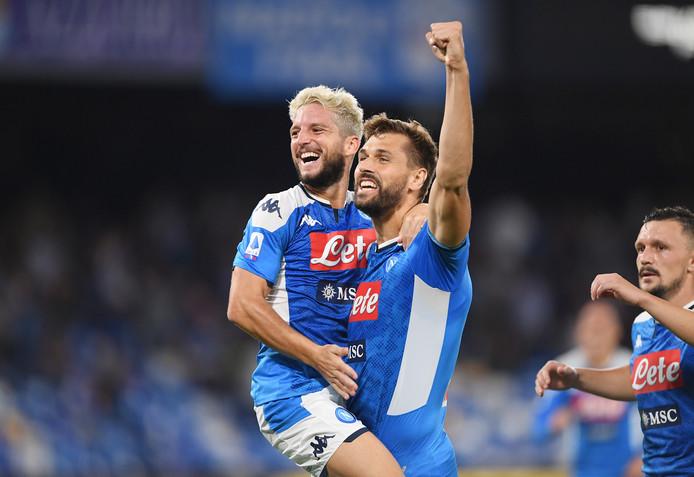 Dries Mertens maakte afgelopen zaterdag beide goals in de 2-0 zege op Sampdoria.