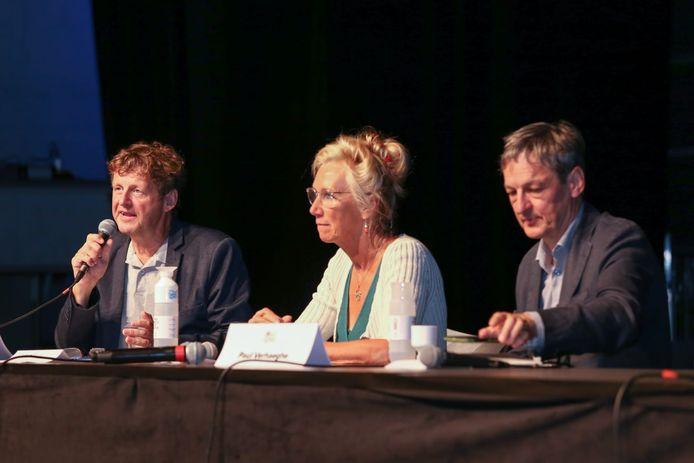 Dirk Van Duppen, Catherine Van der Straeten en Paul Verhaeghe.
