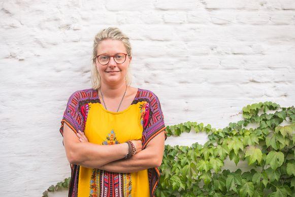Delphine Van Goethem zag de verkoop van veggieburgers tijdens de coronacrisis met een kwart stijgen.