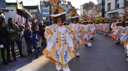 61ste carnavalsstoet in Wetteren en prinses voor Merelbeke