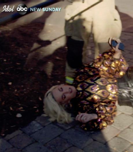 Katy Perry s'effondre suite à une fuite de gaz sur le tournage d'American Idol