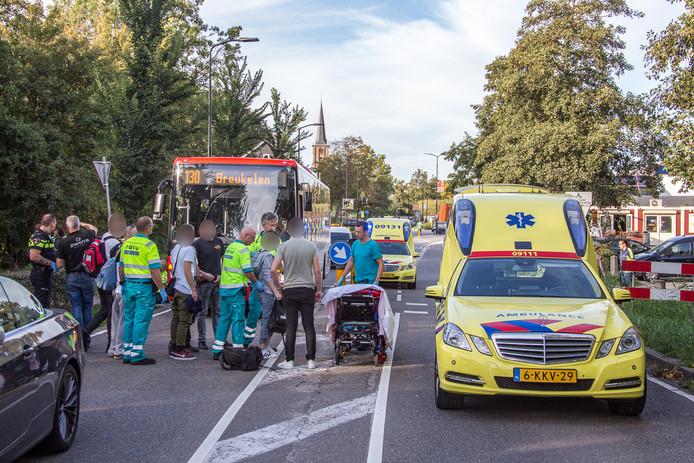 Het slachtoffer in Mijdrecht is naar het ziekenhuis gebracht.