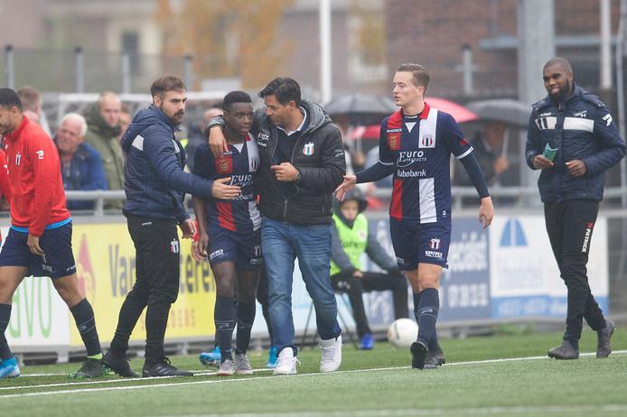 Sekou Sylla werd matchwinner tegen Noordwijk.