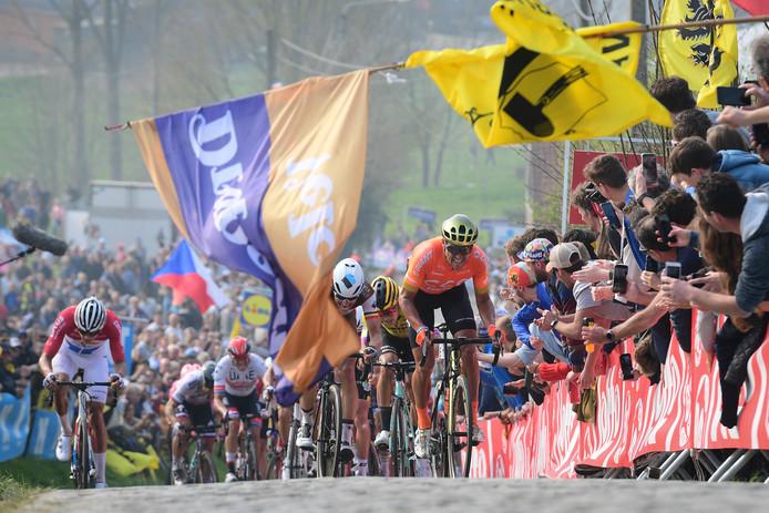 De Ronde van Vlaanderen vorig jaar.