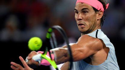 Nadal blijft aan kop in ATP-ranking, maar Federer kan deze week nieuwe nummer één worden