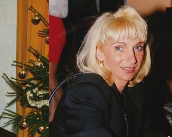 Sonja Holleeder op een foto van 25 jaar geleden