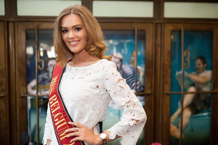 Miss België Annelies Törös.