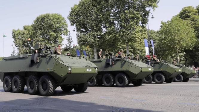 Frans leger onthult pantserwagens waarmee Belgisch leger wordt uitgerust