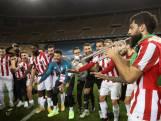 Athletic Bilbao-spelers vieren feest met trompet na winst Supercopa