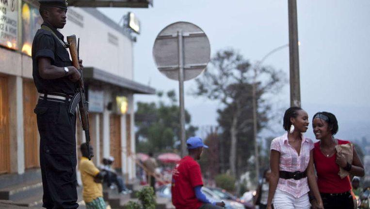 Jonge inwoonsters van Rwanda, een land dat zich snel ontwikkelt. ©EPA Beeld