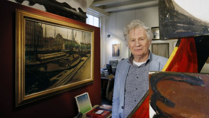 Marcel Gieling sluit per 1 maart aanstaande zijn kunsthandel in de Schoutenstraat