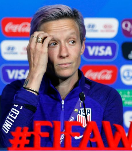 Rapinoe haalt vernietigend uit: 'FIFA geeft niet om vrouwenvoetbal'