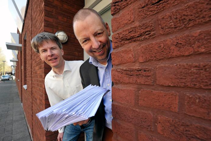 Leonard Smit en Karel van Berk zijn initiatiefnemers van Het Ouden Huis.