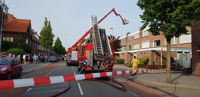 Ontploffing Tongelresestraat Eindhoven.