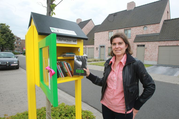 Little Free Library Sint-Andries