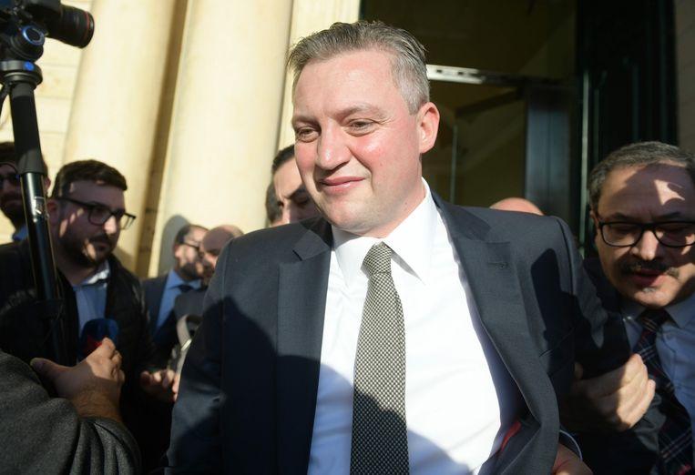 Konrad Mizzi Beeld AFP