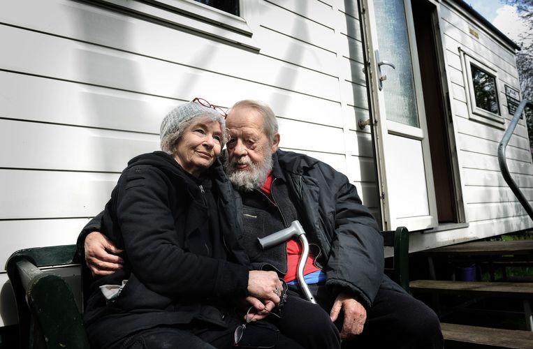 Børge en zijn echtgenoot Joanika Ring. Beeld Marcel van den Bergh