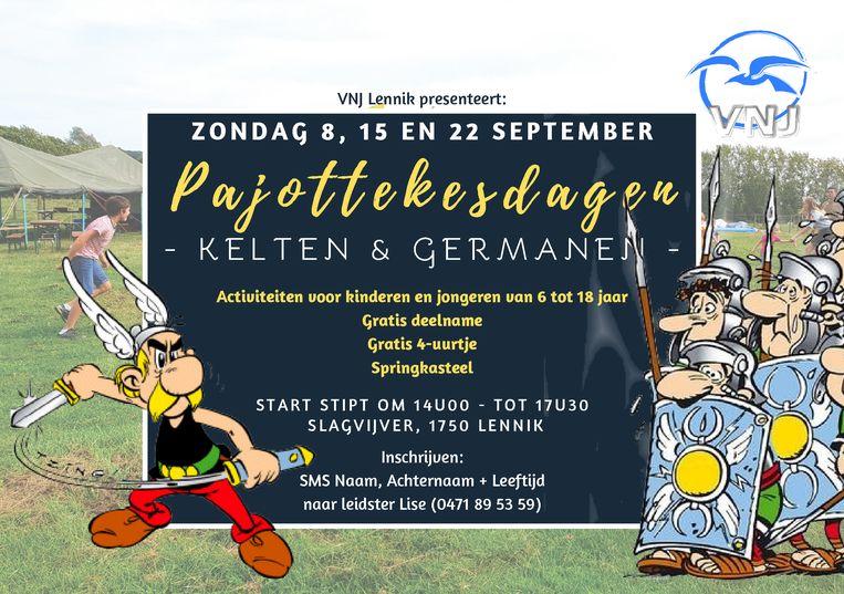De affiche voor de tweede Pajottekesdagen.