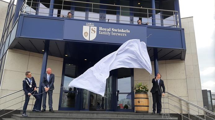 Op het hoofdkantoor in Lieshout werd afgelopen voorjaar de nieuwe naam van bierbrouwer Bavaria onthuld.