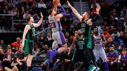 VIDEO. Detroit Pistons maakt einde aan NBA-zegereeks Boston Celtics