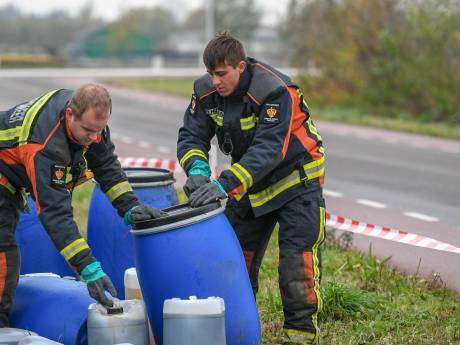 Ook in Boskoop blauwe vaten gevonden; vermoedelijk drugsafval