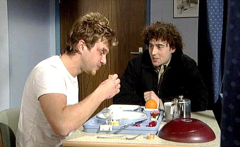 Aan de zijde van Werner De Smedt in 'Thuis', waar Wim tussen 1997 en 2003 de rol van Joeri speelde.