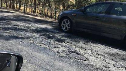 Australië zucht onder extreme hittegolf: weg in Victoria smelt bij meer dan 40 graden